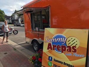 Sammy Arepas Food Truck in Stevensville, Michigan by Jets Like Taxis / Hopsmash
