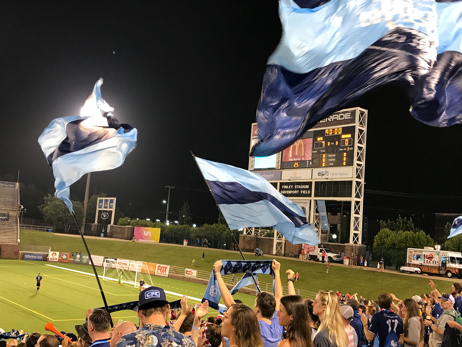 Chattanooga FC by Jets Like Taxis