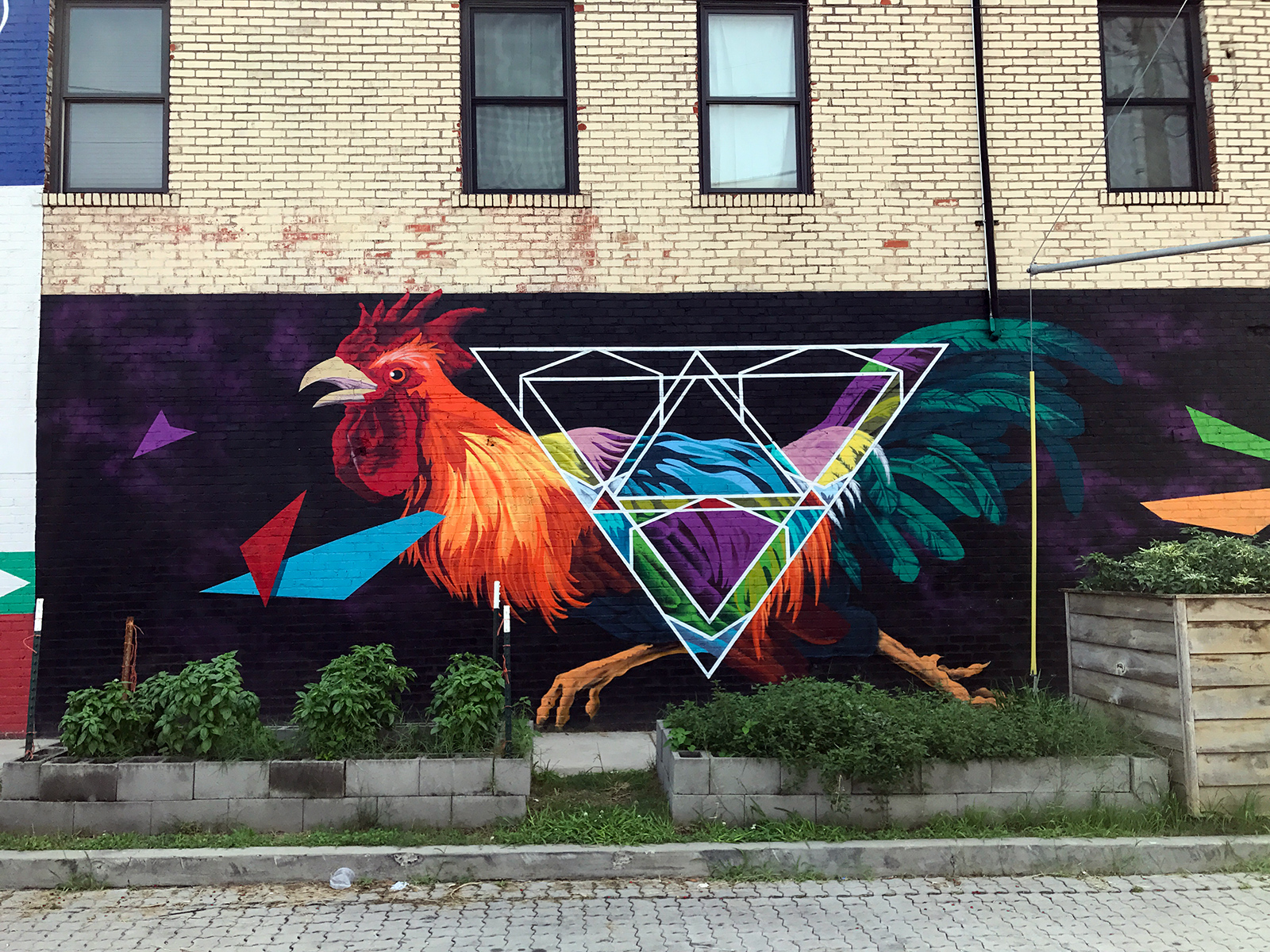 Street Art in Chattanooga, TN by Jets Like Taxis