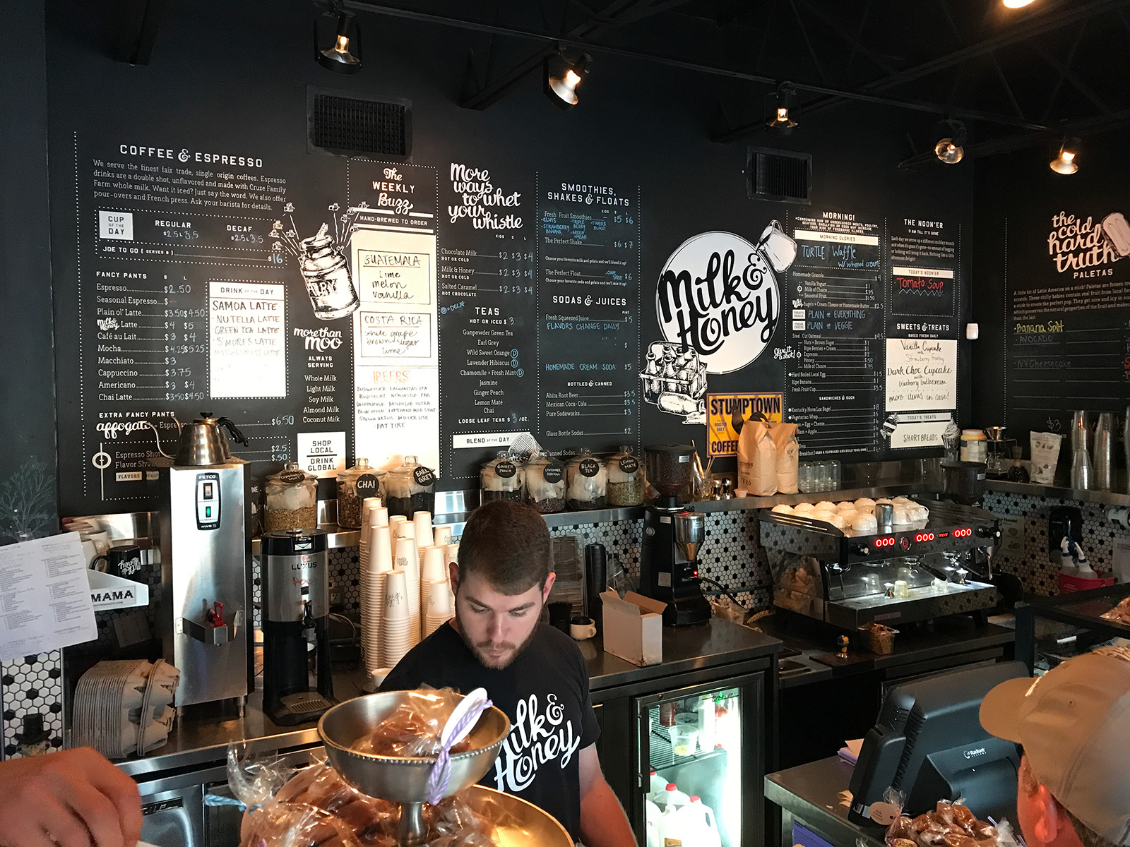 Milk & Honey in Chattanooga, TN by Jets Like Taxis