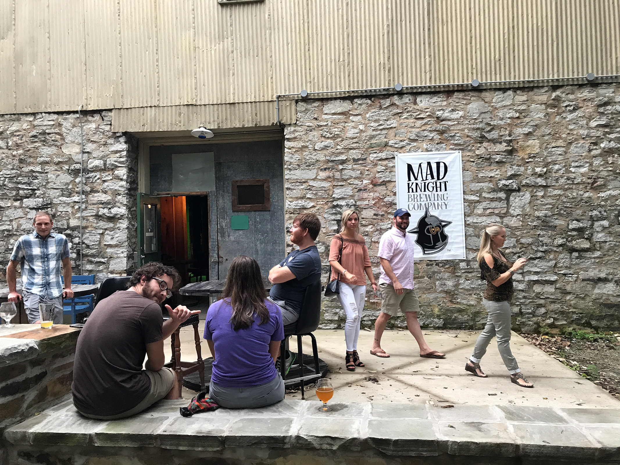 Mad Knight Brewing Co. in Chattanooga, TN by Jets Like Taxis