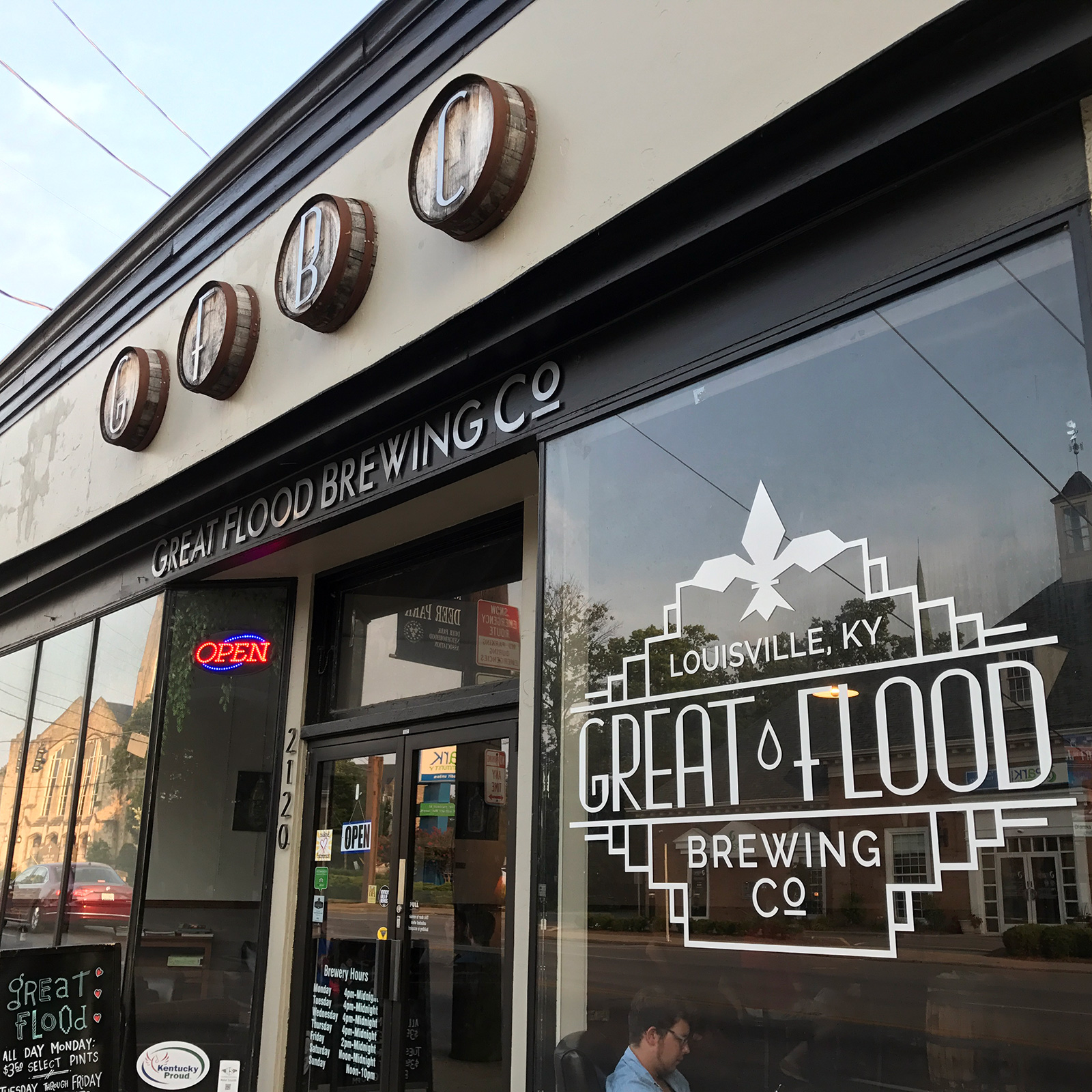 Great Flood Brewing Co. in Louisville, KY by Jets Like Taxis / Hopsmash