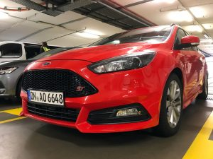 Ford Focus ST in Frankfurt, Germany by Jets Like Taxis
