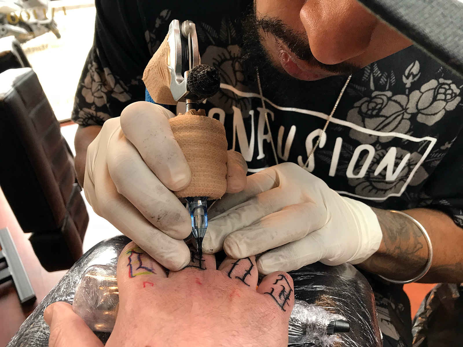 La Rosa Negra Tattoo in Seville, Spain by Jets Like Taxis