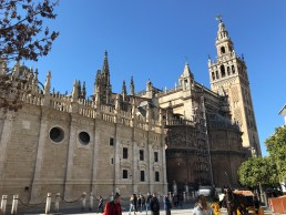 Seville Cathedral in Seville, Spain by Jets Like Taxis