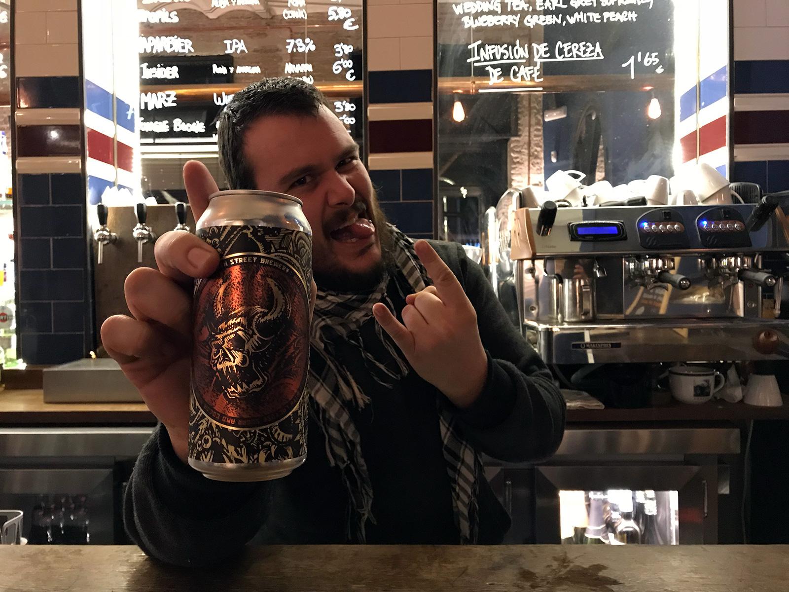 Bier Kraft in Seville, Spain by Jets Like Taxis / Hopsmash