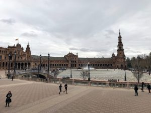 Plaza de España in Seville, Spain by Jets Like Taxis