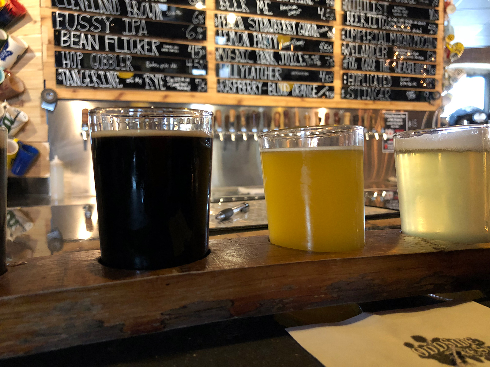 Odd Side Ales in Grand Haven, Michigan by Hopsmash / Jets Like Taxis