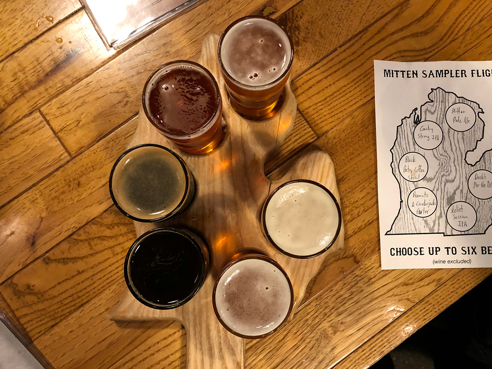The Mitten Brewing Co. in Grand Rapids, MI by Jets Like Taxis / Hopsmash