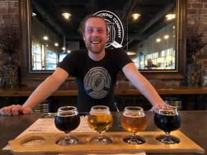 Perrin Brewing Co. in Comstock Park, MI by Jets Like Taxis / Hopsmash