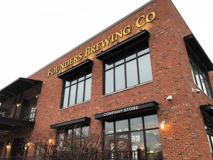 Founders Brewing Co. in Grand Rapids, MI by Jets Like Taxis / Hopsmash