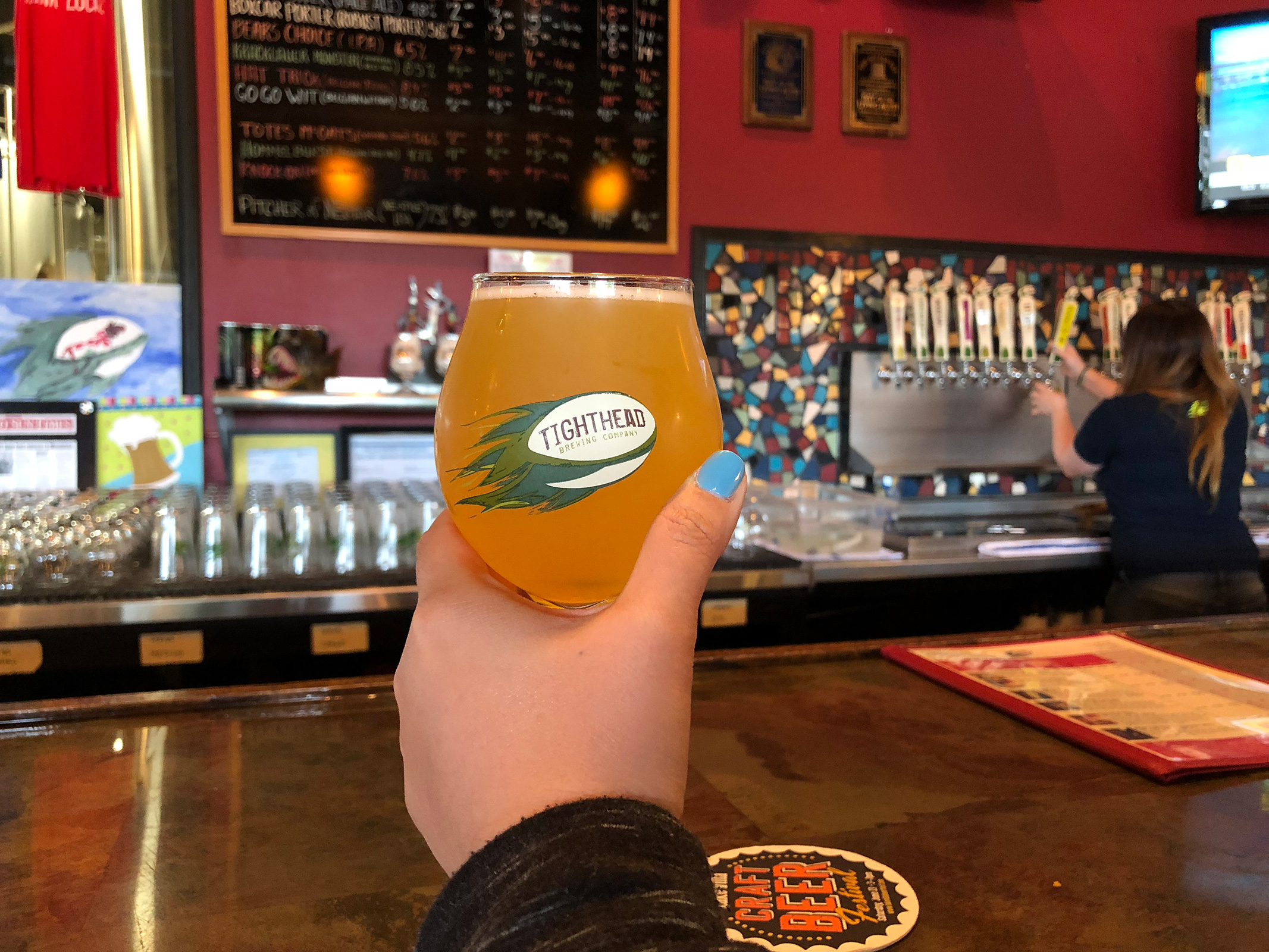 Tighthead Brewing Co. in Mundelein, IL by Jets Like Taxis / Hopsmash