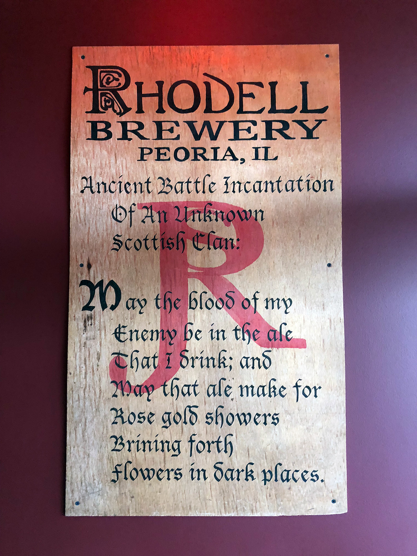 Rhodell Brewery in Peoria, IL by Jets Like Taxis / Hopsmash