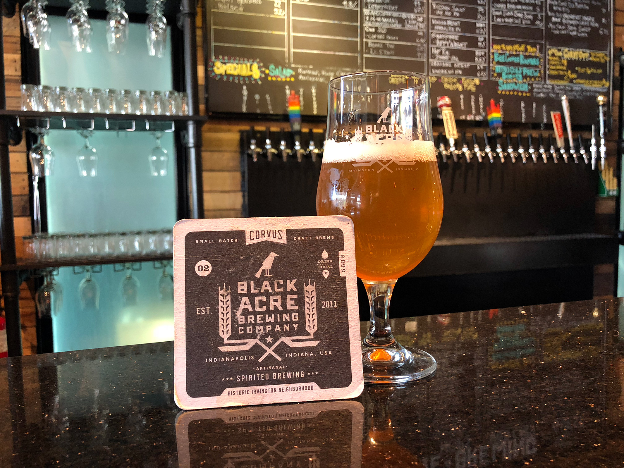 Black Acre Brewing Co. in Indianapolis, IN by Jets Like Taxis / Hopsmash