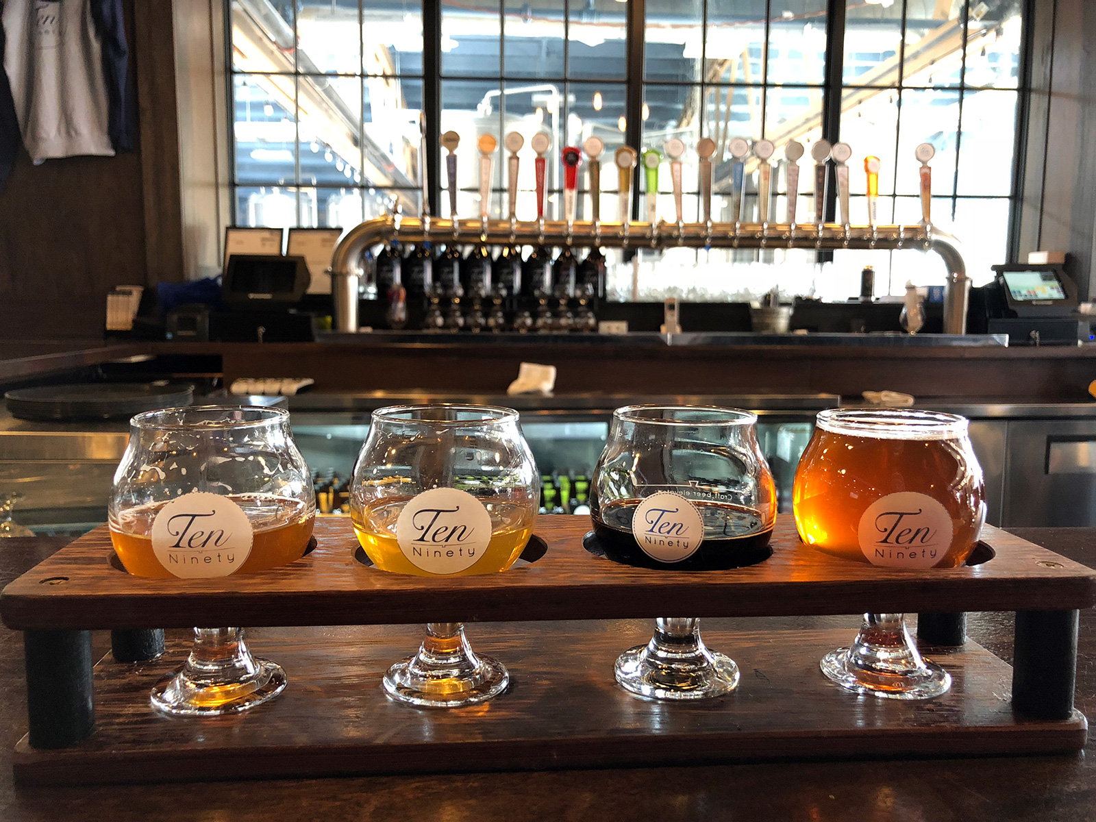 Ten Ninety Brewing Co. by Jets Like Taxis / Hopsmash
