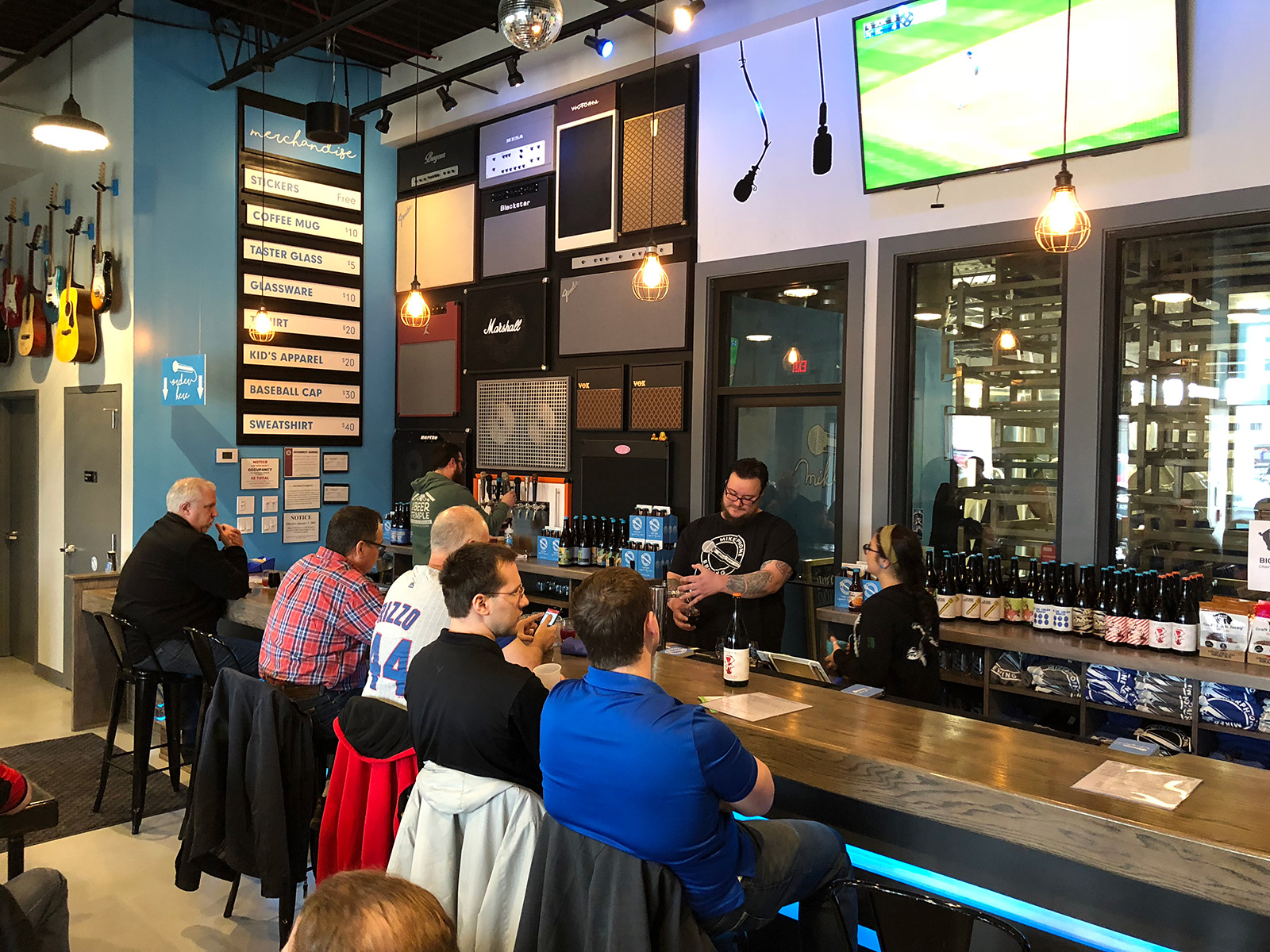 Mikerphone Brewing in Elk Grove Village, IL by Jets Like Taxis / Hopsmash