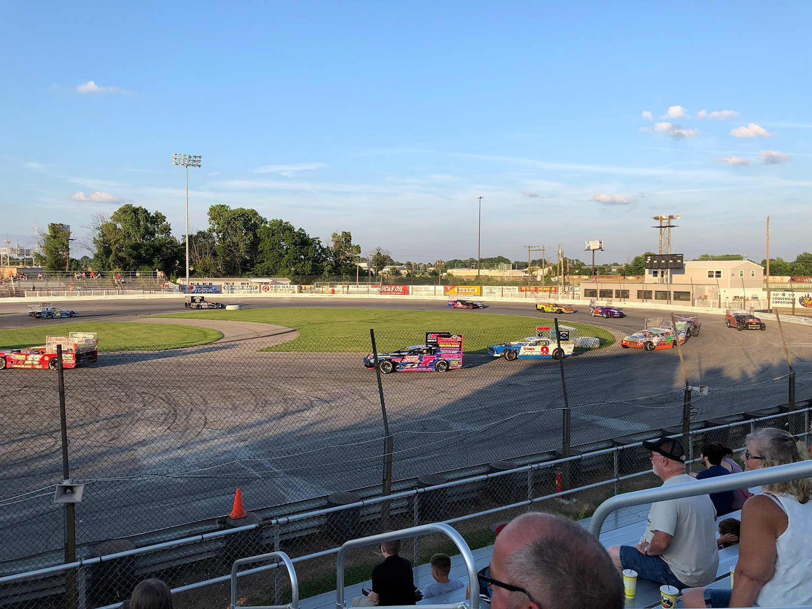 Sportsdrome Speedway in Clarksville, IN by Jets Like Taxis