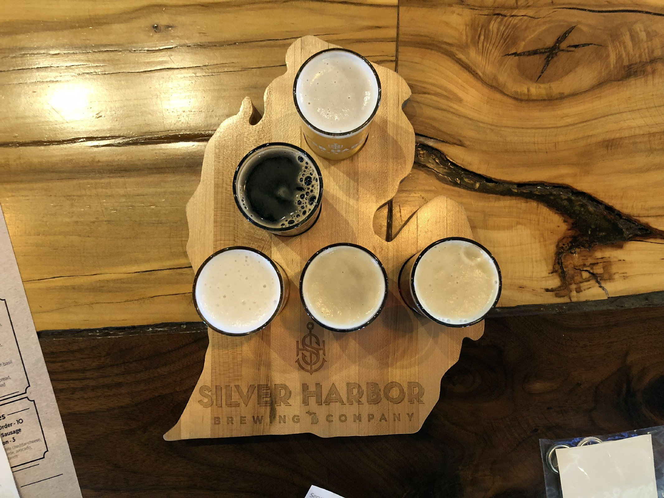 Silver Harbor Brewing Co. in St. Joseph, MI by Jets Like Taxis / Hopsmash