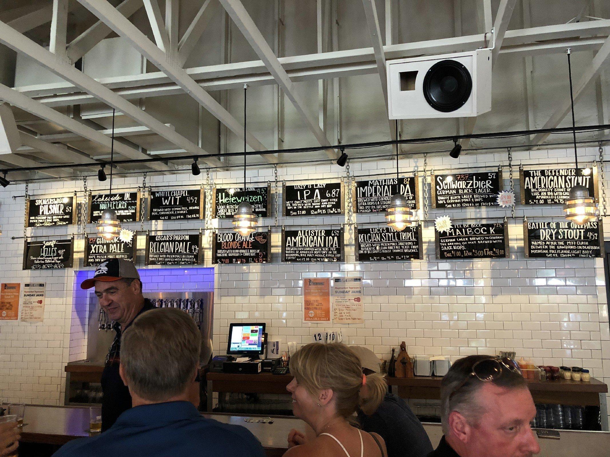 Haymarket Brewery in Bridgman, MI by Jets Like Taxis / Hopsmash