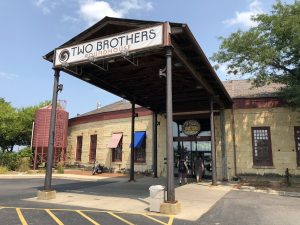Two Brothers Roundhouse in Aurora, IL by Jets Like Taxis / Hopsmash