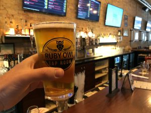 Ruby Owl Tap Room in Oshkosh, WI by Jets Like Taxis / Hopsmash