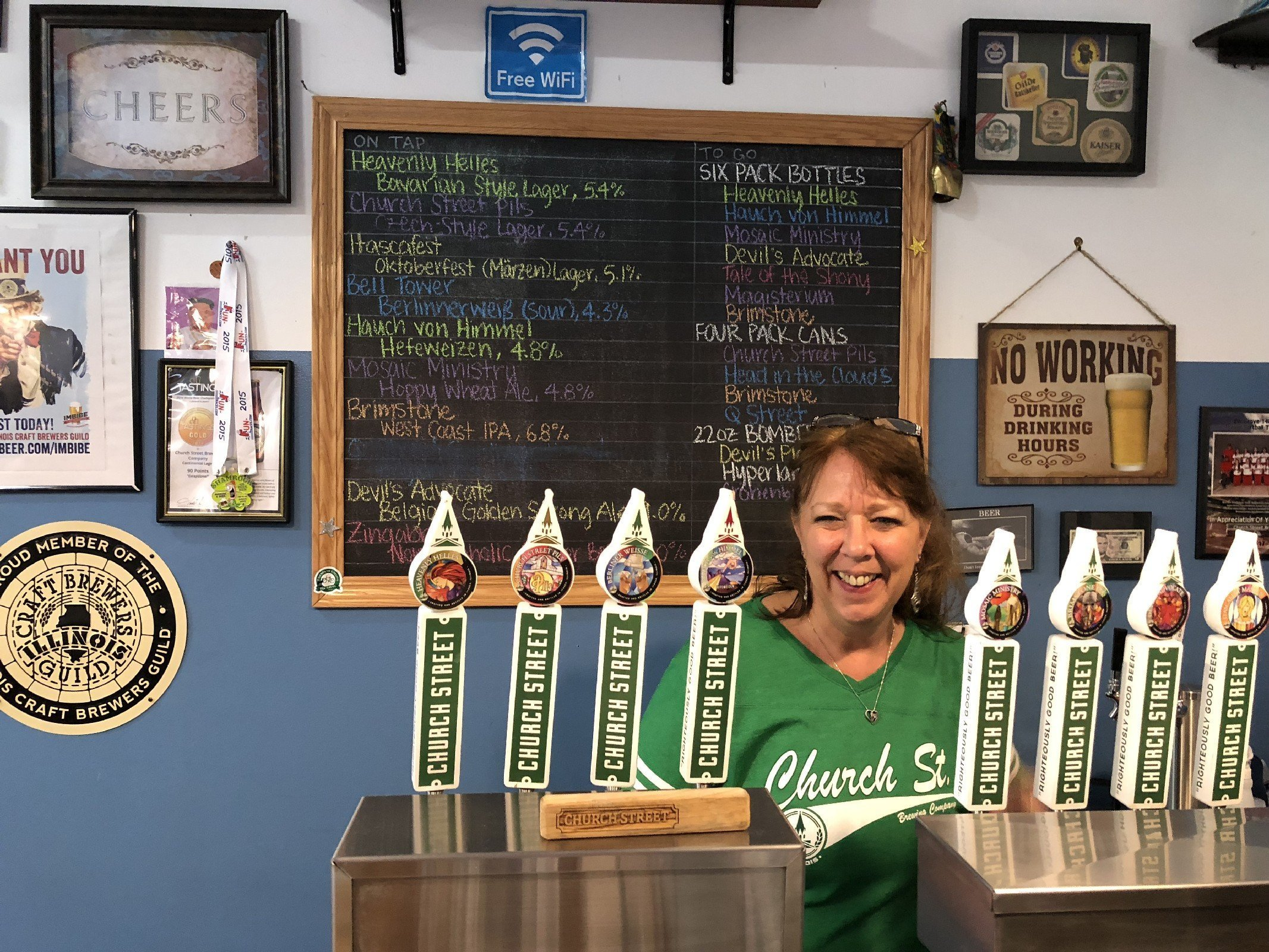 Church Street Brewing Co. in Itasca, IL by Jets Like Taxis / Hopsmash
