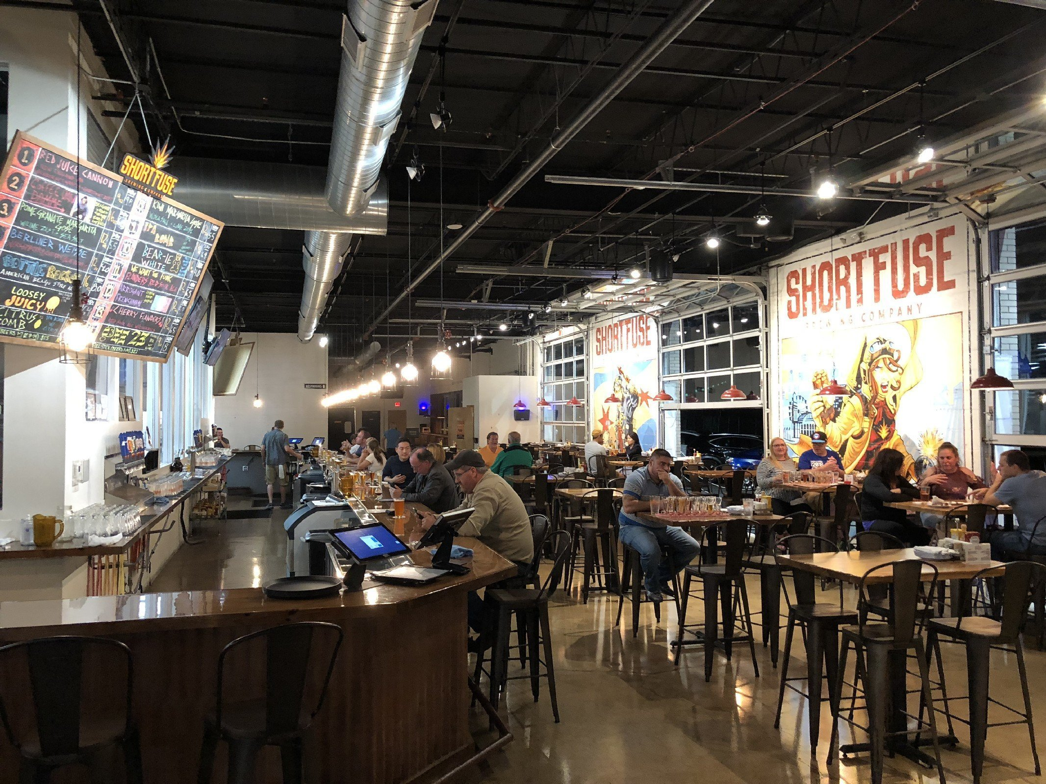 Short Fuse Brewing Co. in Schiller Park, IL by Jets Like Taxis / Hopsmash